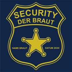 JGA - Security der Braut - Marke